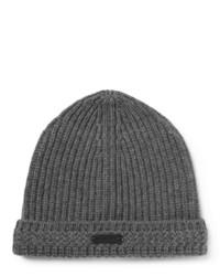 dunkelgraue Mütze von Belstaff