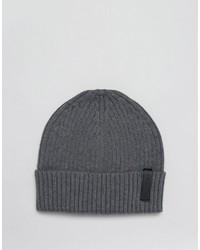 dunkelgraue Mütze von Calvin Klein