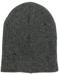 dunkelgraue Mütze von Dondup