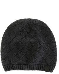 dunkelgraue Mütze von Giorgio Armani