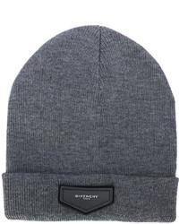 dunkelgraue Mütze von Givenchy