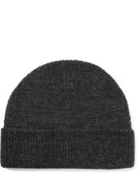dunkelgraue Mütze von Lanvin