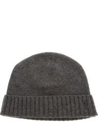 dunkelgraue Mütze von Ralph Lauren