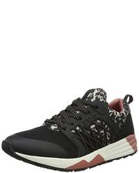 dunkelgraue niedrige Sneakers von Fila