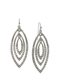 dunkelgraue Ohrringe von 1928 Jewelry