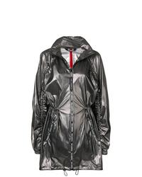 dunkelgraue Regenjacke von Karl Lagerfeld
