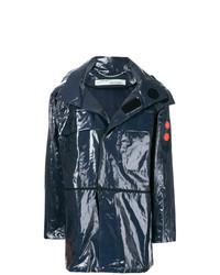 dunkelgraue Regenjacke von Off-White