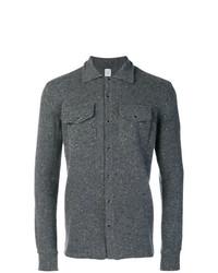 dunkelgraue Shirtjacke von Eleventy