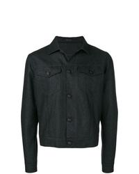 dunkelgraue Shirtjacke von Tagliatore