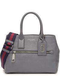 dunkelgraue Shopper Tasche aus Leder von Marc Jacobs