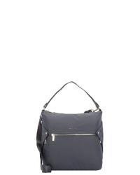 dunkelgraue Shopper Tasche aus Segeltuch von Hedgren