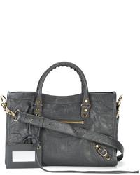 dunkelgraue Shopper Tasche von Balenciaga
