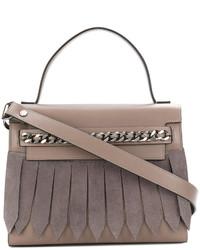 dunkelgraue Shopper Tasche von Casadei