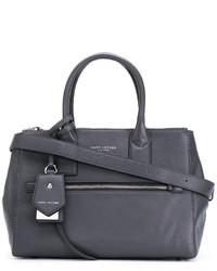 dunkelgraue Shopper Tasche von Marc Jacobs