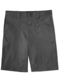 dunkelgraue Shorts