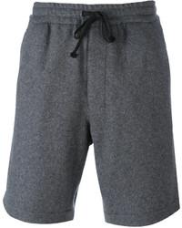 dunkelgraue Shorts von AMI Alexandre Mattiussi