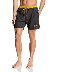 dunkelgraue Shorts von BOSS HUGO BOSS