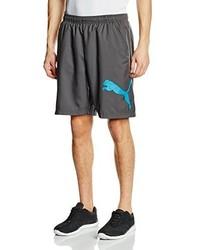 dunkelgraue Shorts von Puma