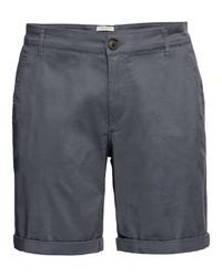 dunkelgraue Shorts von Selected Homme