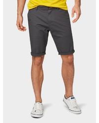 dunkelgraue Shorts von Tom Tailor