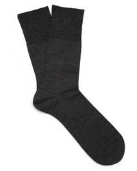dunkelgraue Socke