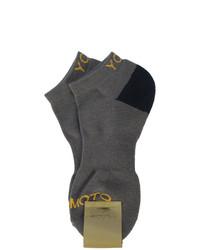 dunkelgraue Socken von Yohji Yamamoto