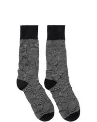dunkelgraue Socken von Issey Miyake Men