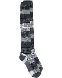 dunkelgraue Socken von Twin-Set