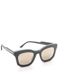dunkelgraue Sonnenbrille