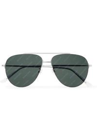 dunkelgraue Sonnenbrille von Balenciaga