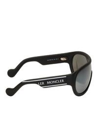 dunkelgraue Sonnenbrille von Moncler