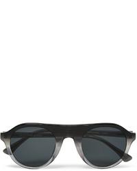 dunkelgraue Sonnenbrille von Dries Van Noten