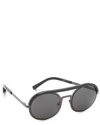 dunkelgraue Sonnenbrille von Elizabeth and James