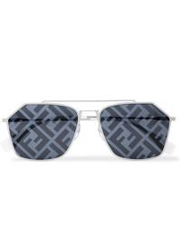 dunkelgraue Sonnenbrille von Fendi