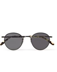 dunkelgraue Sonnenbrille von Garrett Leight California Optical
