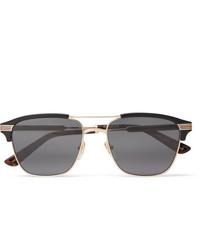dunkelgraue Sonnenbrille von Gucci