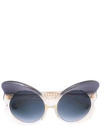 dunkelgraue Sonnenbrille von Matthew Williamson