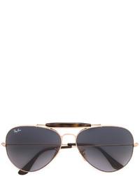dunkelgraue Sonnenbrille von Ray-Ban