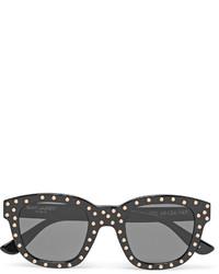 dunkelgraue Sonnenbrille von Saint Laurent