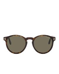 dunkelgraue Sonnenbrille von Tom Ford