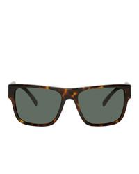 dunkelgraue Sonnenbrille von Versace