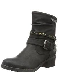 dunkelgraue Stiefel von Bruno Banani