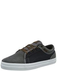 dunkelgraue Turnschuhe von DVS Shoes