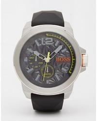 dunkelgraue Uhr von Boss Orange