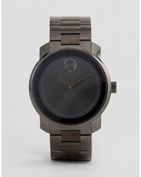 dunkelgraue Uhr von Movado