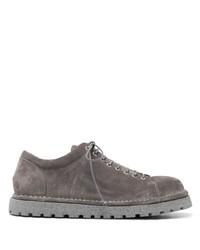dunkelgraue Wildleder niedrige Sneakers von Marsèll