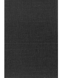 dunkelgraue Wollanzughose mit Fischgrätenmuster von Carl Gross