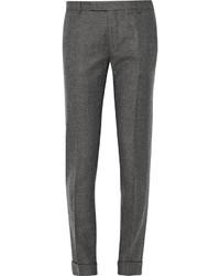 dunkelgraue Wollanzughose von Gant