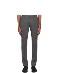 dunkelgraue Wollchinohose von Ps By Paul Smith