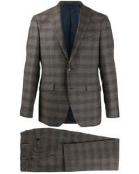 dunkelgrauer Anzug mit Schottenmuster von Etro